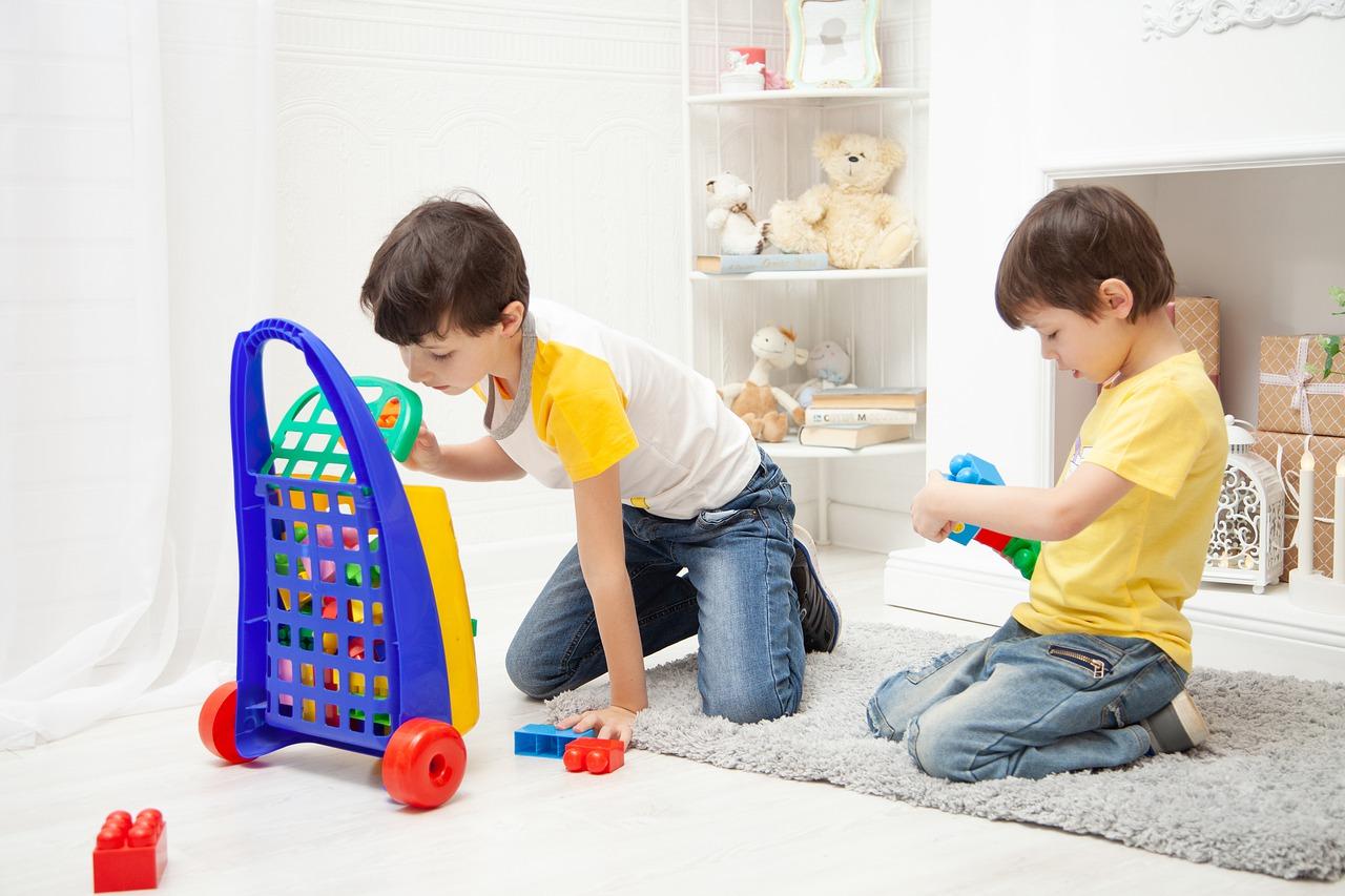 Dywany w dziecięcych pokojach
